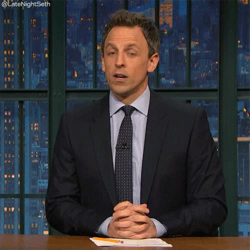 Watch Late Night with Seth Meyers GIF on Gfycat. Discover more seth meyers GIFs on Gfycat