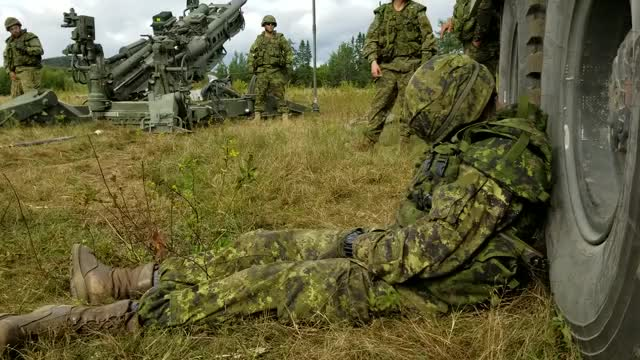 Watch and share Canadian Artillery Wake Up GIFs by curiousattempt9 on Gfycat