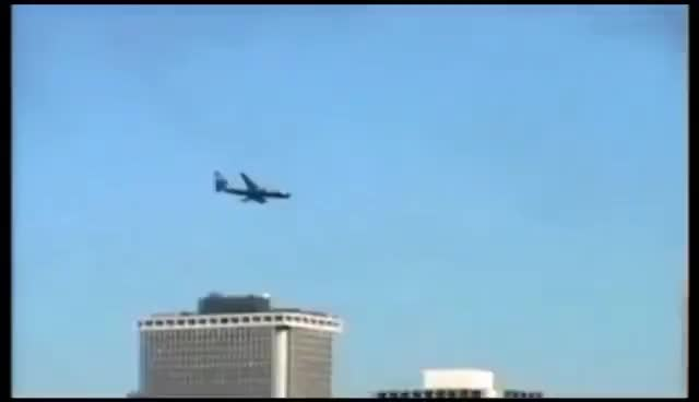 Watch and share Wtc 1st Plane GIFs on Gfycat