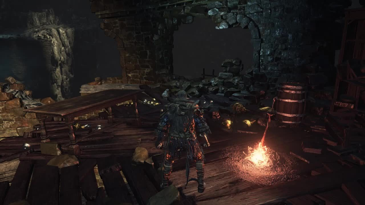 darksouls3, Shortcut from Profaned Capital to Jailers GIFs