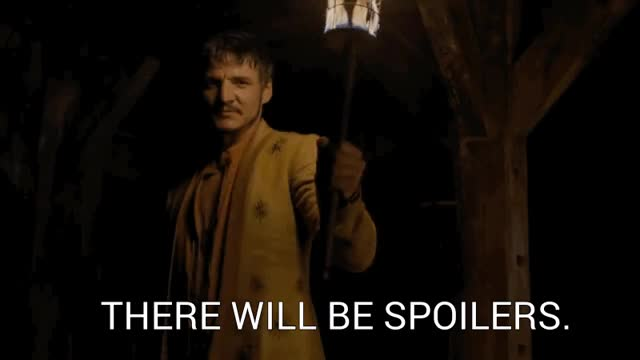 Watch and share Pedro Pascal GIFs and Spoilers GIFs on Gfycat