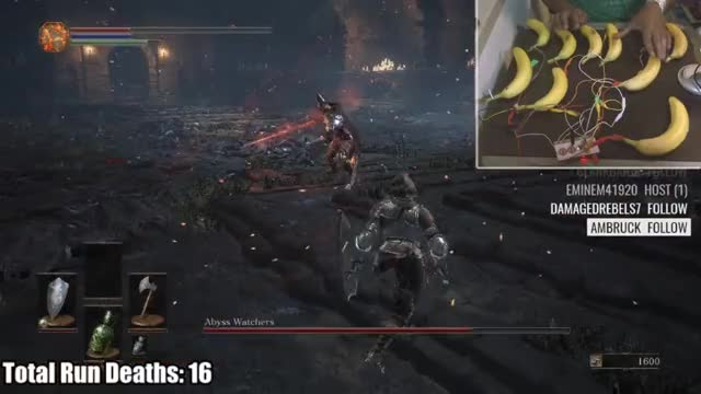 Watch Dark Souls 3 Banana Run GIF by ATwerkingYoshi (@atwerkingyoshi) on Gfycat. Discover more gaming GIFs on Gfycat