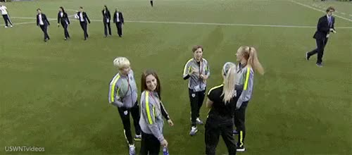 Watch this trending GIF on Gfycat. Discover more becky sauerbrunn, julie johnston, megan rapinoe, meghan klingenberg, morgan brian, uswnt GIFs on Gfycat