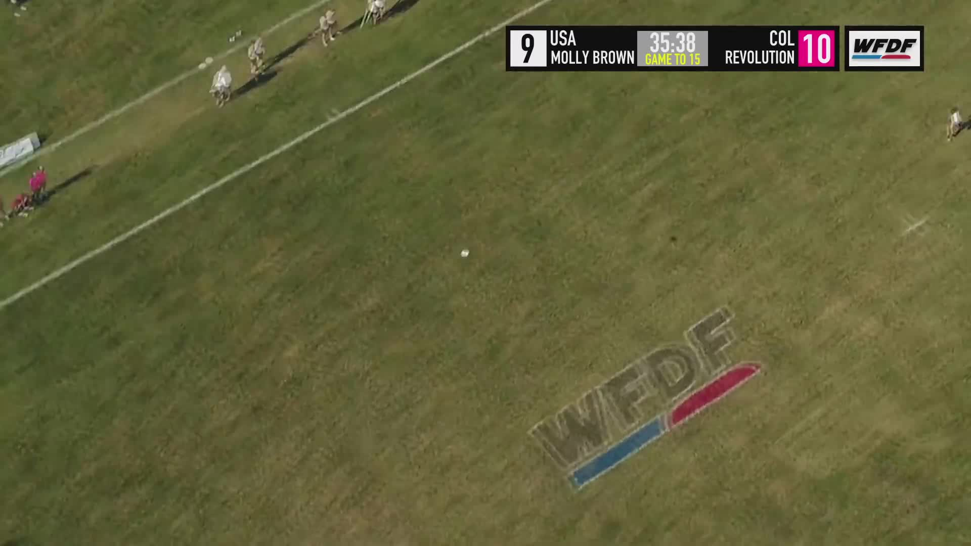 Sports, Ultimate Frisbee, World Flying Disc Federation, WUCC 2018 - Molly Brown Ultimate (USA) vs Revolution (COL) GIFs