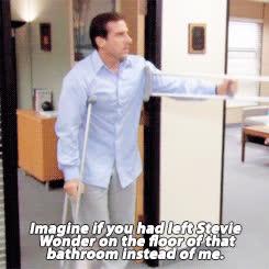 michael scott, steve carell, the office, michael scott foot GIFs
