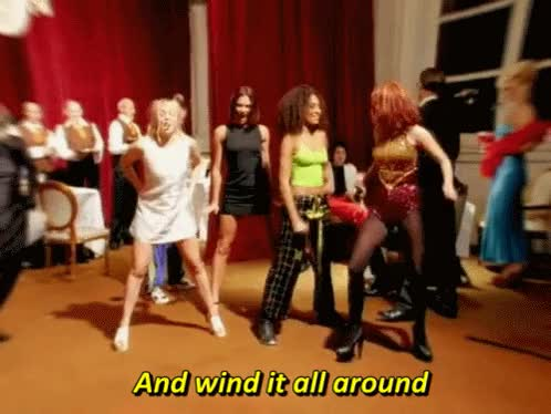 Watch and share Spice Girls GIFs on Gfycat