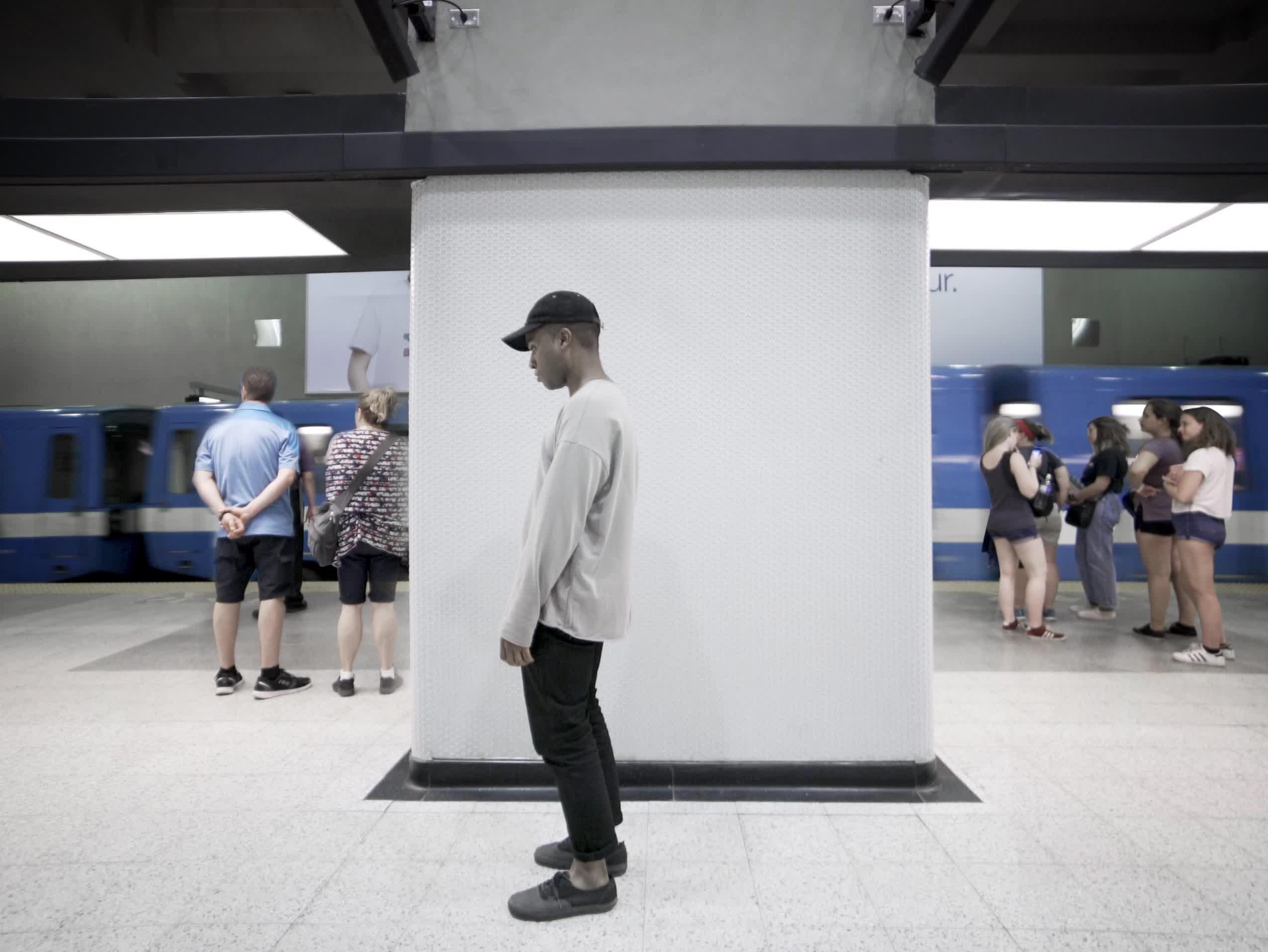 Montreal Metro Loop #10 GIFs