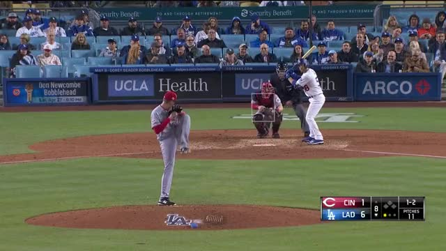 Watch and share Los Angeles Dodgers GIFs and Cincinnati Reds GIFs on Gfycat