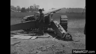 Watch and share Post WW1 Artillery And Mortar Demonstration Ca. 1919 Silent GIFs on Gfycat