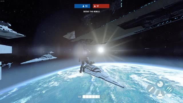 Watch and share Star Wars Battlefront II Outer Space GIFs by maniac_34 on Gfycat