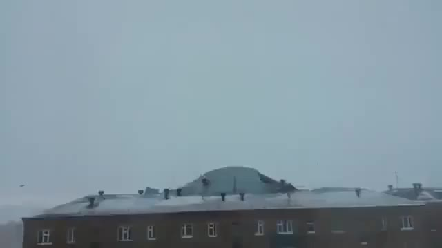 Watch and share Wind Tears Roof Off The Building GIFs by konata08 on Gfycat