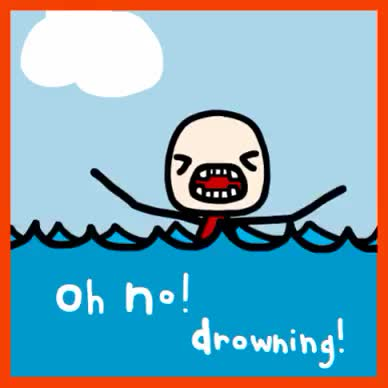 Watch and share Drowning GIFs on Gfycat