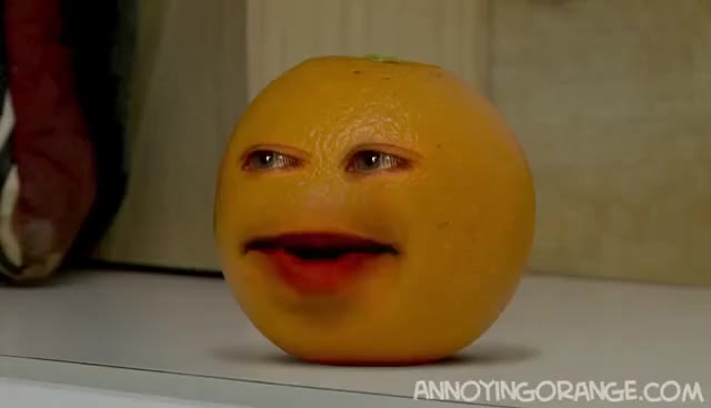 Watch this trending GIF on Gfycat. Discover more Annoying Orange, dog biscuit GIFs on Gfycat