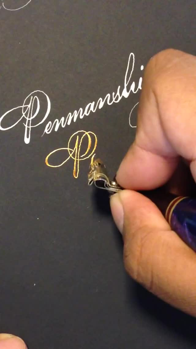 Watch and share Penmanship Porn GIFs on Gfycat