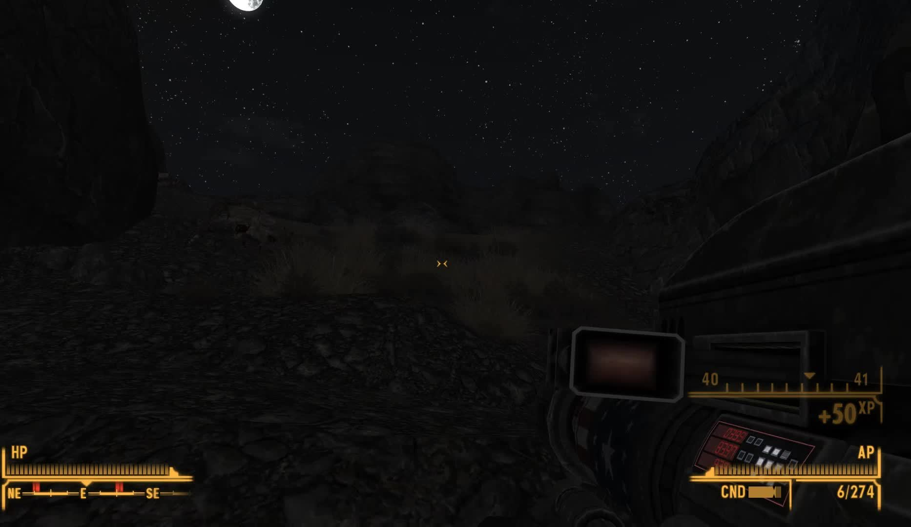 fnv, Entering Deathclaw Promontory at Night Rarely Ends Well (reddit) GIFs