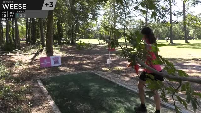 Watch FPO Finals 2018 DGPT Championship - B9 | Jessica Weese hole 16 drive GIF by Benn Wineka UWDG (@bennwineka) on Gfycat. Discover more Sports, dgpt, disc golf, disc golf pro tour GIFs on Gfycat