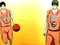 Watch and share Midorima Shintarou GIFs and Kuroko No Basket GIFs on Gfycat