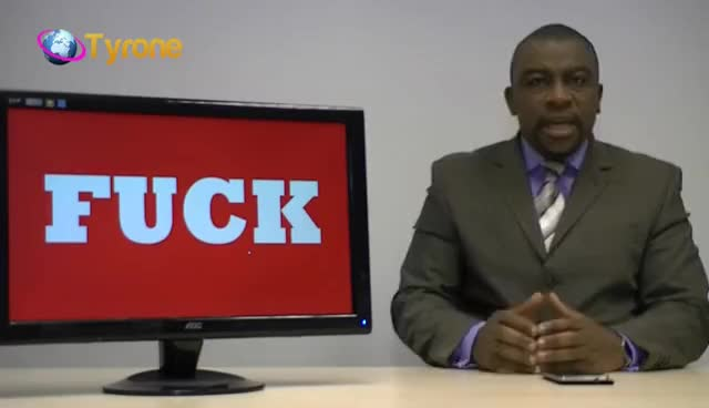 "Watch and share Tyrone Analyzes The Word ""Fuck"": Viewer Discretion Advised GIFs on Gfycat"