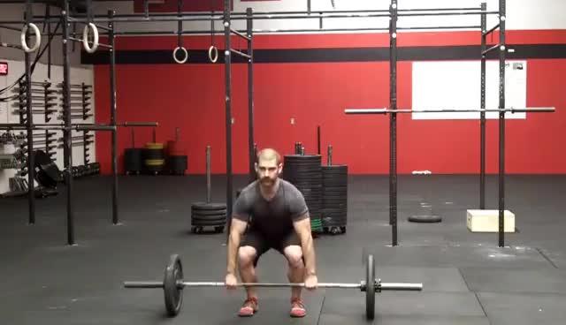 CrossFit Squat Clean and Jerk - Northstate CrossFit GIFs