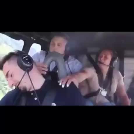 Pilot falls asleep prank