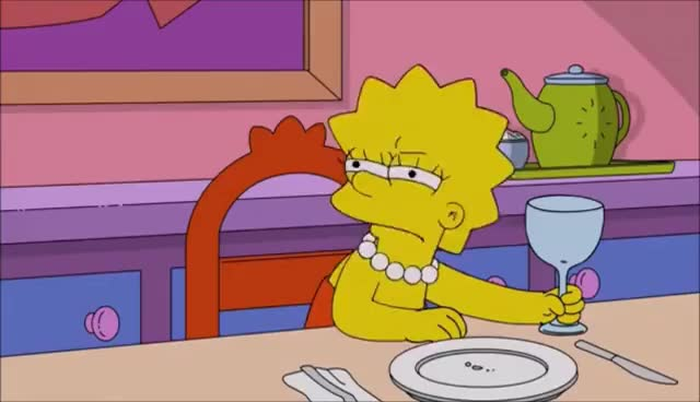 Watch and share Lisa Simpson DRUNK GIFs on Gfycat