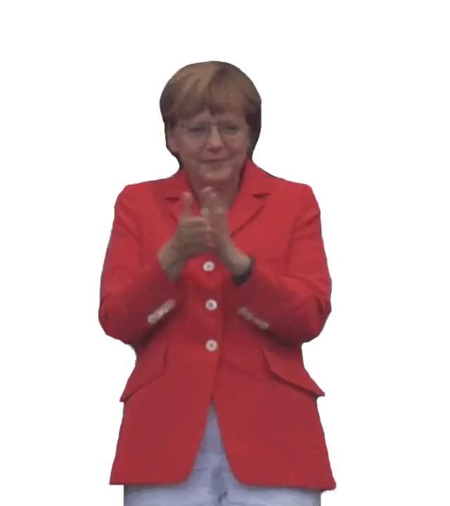 Watch and share Merkel GIFs on Gfycat