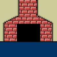 Watch and share Santa Claus Smiley Comes From Chimney 04 GIFs on Gfycat