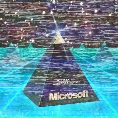 Watch and share Glitch Art GIFs and Microsoft GIFs on Gfycat