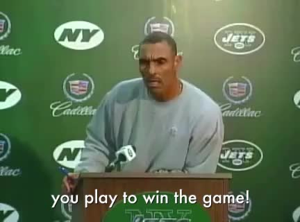 herm edwards, jets, new york jets, win, you play to win the game! GIFs