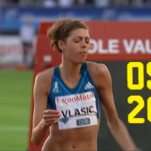 Watch and share Blanka Vlasic - Oslo (2014) GIFs on Gfycat