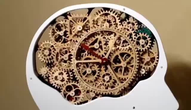 Watch and share Gear Head - Working Wood Gear Mechanism GIFs on Gfycat