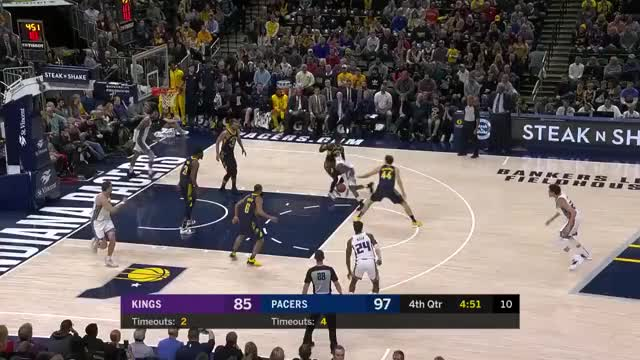Watch and share Sacramento Kings GIFs and Indiana Pacers GIFs on Gfycat