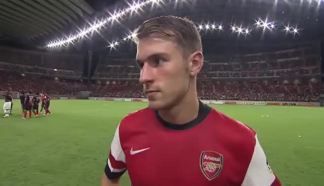 Watch this trending GIF on Gfycat. Discover more aaron ramsey, arsenal GIFs on Gfycat