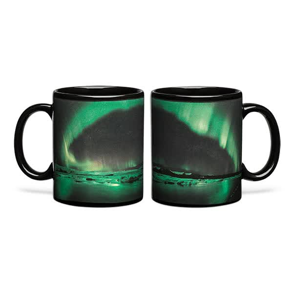 Watch Aurora Borealis Heat Changing Mug GIF by Ievgen Marchuk (@ievgenmarchuk) on Gfycat. Discover more AuroraBorealis, coffee, mug GIFs on Gfycat