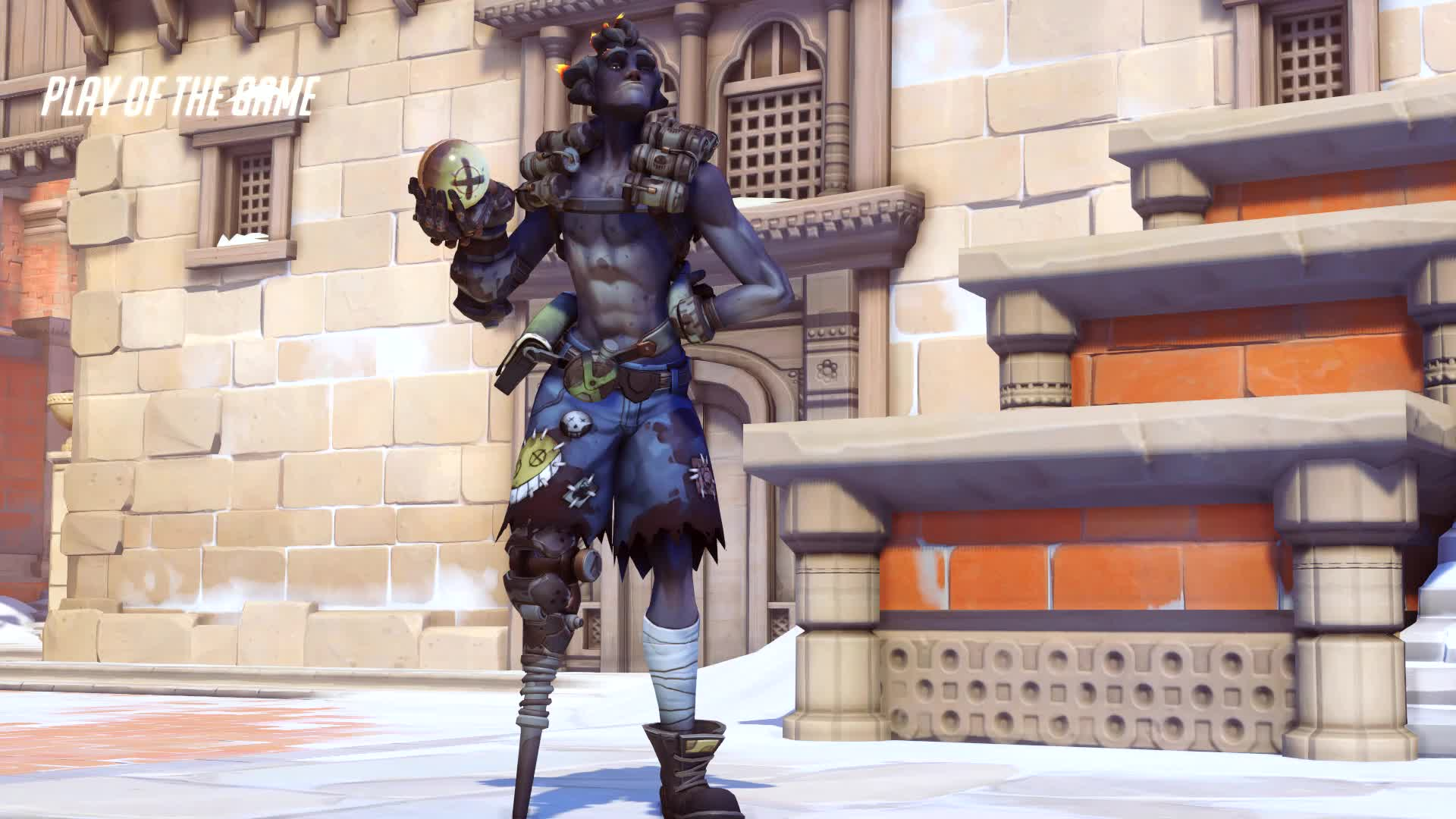 60fps, POTG, junkrat, overwatch, i must one-up kima GIFs