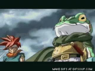Watch and share Frog Chrono Trigger GIFs on Gfycat