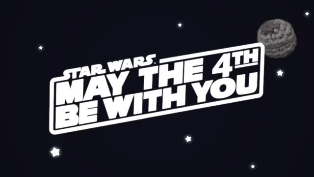 Watch and share May The 4th Be With You GIFs by Louie's Loops on Gfycat