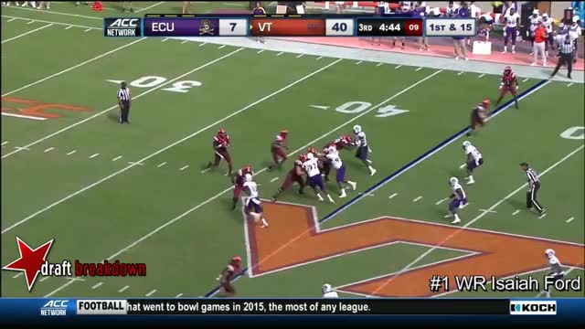 Watch and share WR Isaiah Ford Vs East Carolina 2016 GIFs by Sean McKaveney on Gfycat