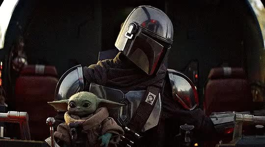 Watch and share The Mandalorian GIFs and Baby Yoda GIFs by Shelly StarZZ on Gfycat