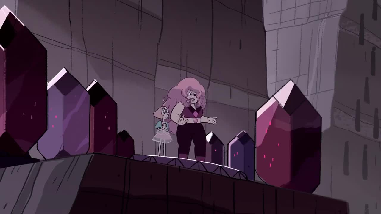 Pearl, StevenUniverse, rose, Steven Universe | Now We're Only Falling Apart | Cartoon Network GIFs
