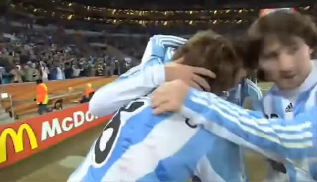 Watch this trending GIF on Gfycat. Discover more Argentina, bang, camera, football, funny, slap, soccer GIFs on Gfycat