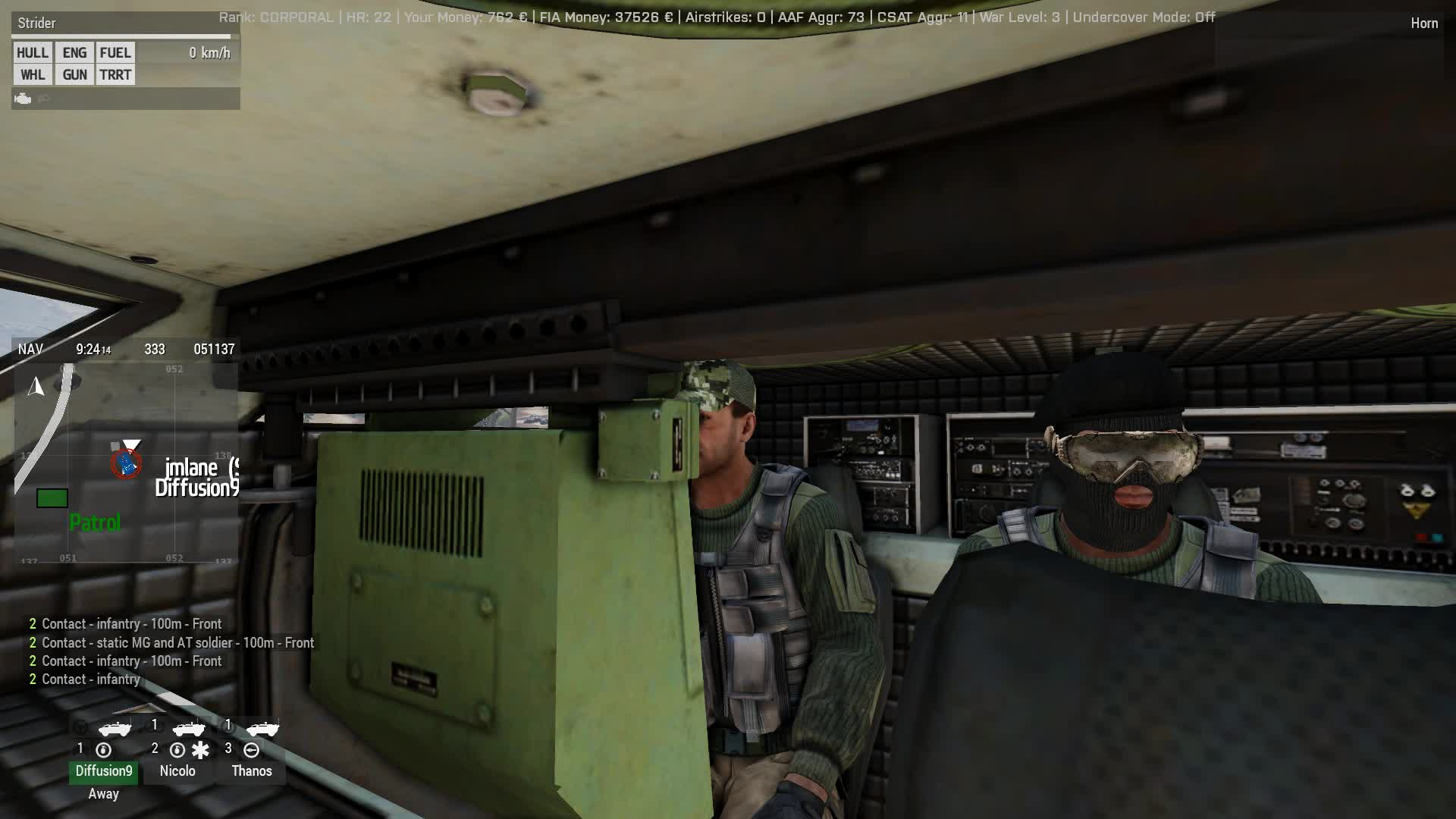 Arma 3, Arma 3 - MRAP Convoy Destroyed by AT GIFs