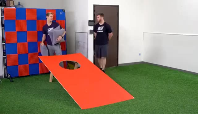 Watch and share GIANT CornHole Challenge!! GIFs on Gfycat