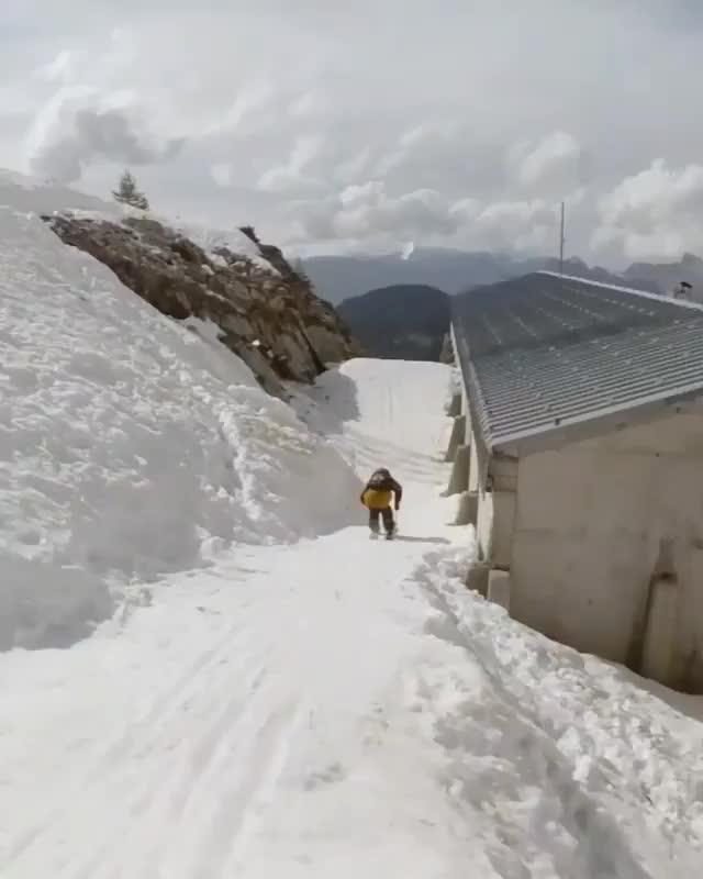 This was recorded by a camera guy and not drone. GIFs