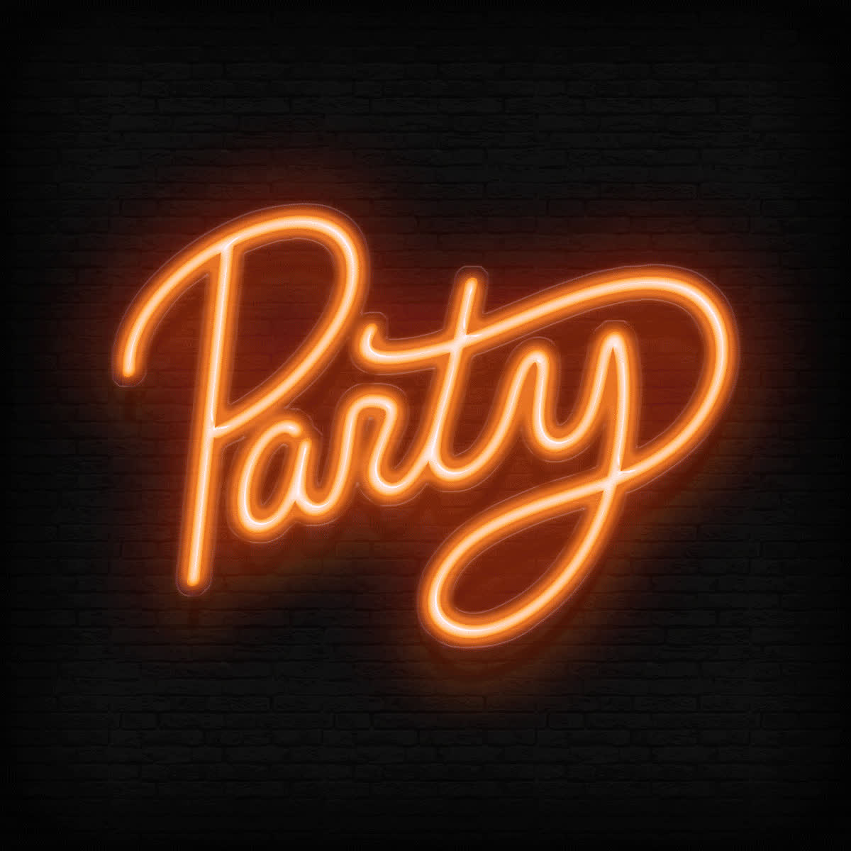 Malaea, animation, lights, neon sign, party, Party Lights Animation GIFs