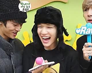 Watch Hyuk gifs GIF on Gfycat. Discover more han sanghyuk, hyuk, laughter, mygif, sanghyuk, vixx, vixx hyuk GIFs on Gfycat