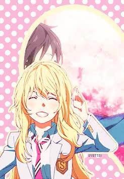 Watch Namastaker ~ GIF on Gfycat. Discover more anime, kaori, kaori miyazono, kaori x kousei, kousei, kousei arima, love, manga, shigatsu wa kimi no uso GIFs on Gfycat