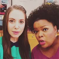 Watch Alison Brie Fans. GIF on Gfycat. Discover more Yvette Nicole Brown, alison brie, communitycastedit, communityedit, myedit*, type: vine GIFs on Gfycat