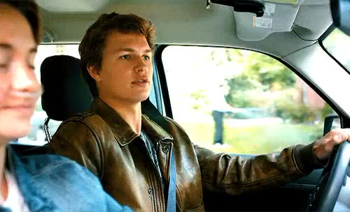 Watch augustus waters car cute Favim com GIF on Gfycat. Discover more related GIFs on Gfycat