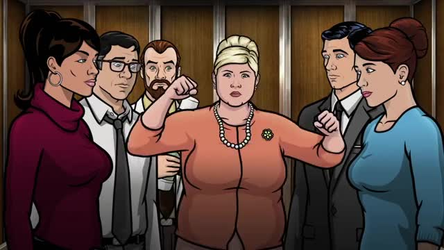Watch Pam Poovey GIF by @foxtrot on Gfycat. Discover more archerfx GIFs on Gfycat